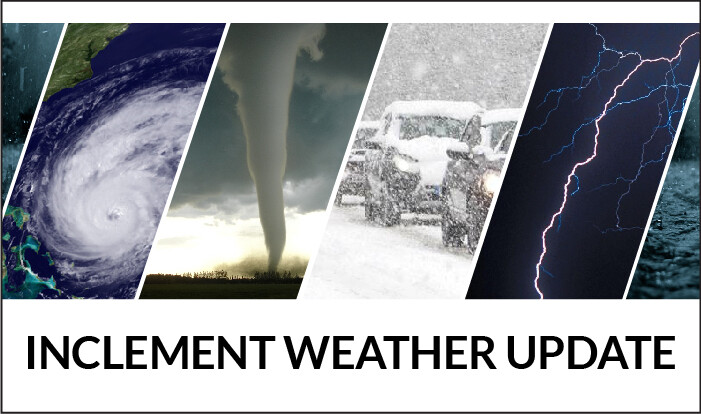 Inclement Weather Updates for Thursday-Friday (March 5-6)
