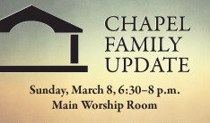 Chapel Family Update