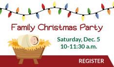 Family Christmas Party  - Dec 5 2015 10:00 AM