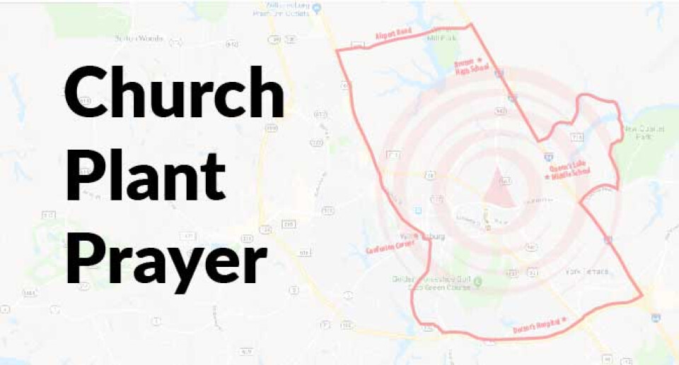 Church Plant Prayer