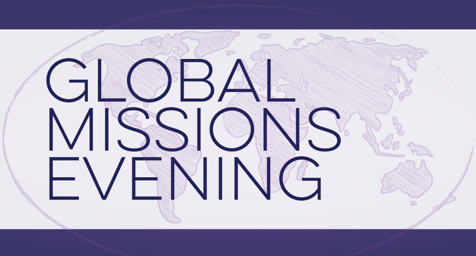 Global Missions Evening